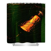 Grandma's Christmas Ornament Shower Curtain