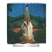 Grandmas Church Shower Curtain