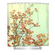 Grandma's Pink Dogwood Shower Curtain