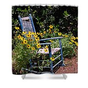 Grandma's Rocking Chair Shower Curtain