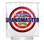 Grandmaster Version 2 Shower Curtain