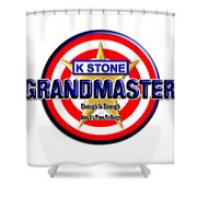 Grandmaster Version 2 Shower Curtain