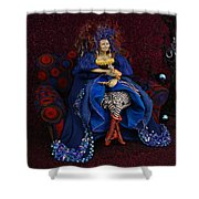 Grandmother Witch Shower Curtain