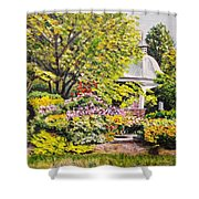 Grandmother's Garden Shower Curtain
