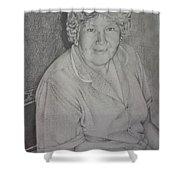 Grandmother's Portrait Shower Curtain