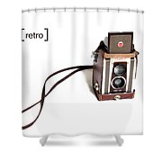Grandpa's Camera Shower Curtain