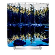 Granit Reflections Shower Curtain