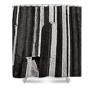 Granite Columns Shower Curtain