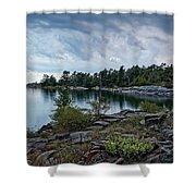 Granite Islands Shower Curtain