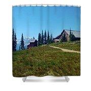 Granite Park Chalet Shower Curtain