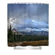 Granite Park Chalet - Glacier National Park Shower Curtain
