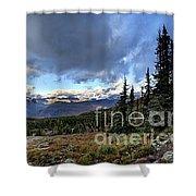 Granite Park - Glacier National Park Shower Curtain