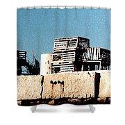 Granite Pier Shower Curtain