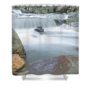 Granite Pool Shower Curtain