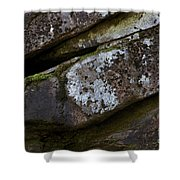 Granite Rock Close Up Shower Curtain