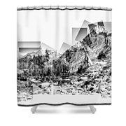 Granite Steps Eagle Lake Sequoia National Park California 2012 Shower Curtain