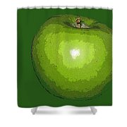 Granny Smith Shower Curtain