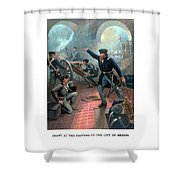 Grant At The Capture Of The City Of Mexico Shower Curtain