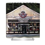 Granville Country Store Front View Shower Curtain