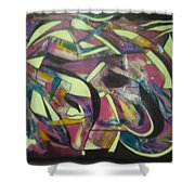 Grape Friut Shower Curtain