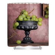 Grapes Centerpiece Shower Curtain