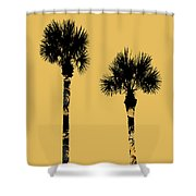 5e5a0e55907b8 Graphic Art Palm Trees Miami - Yellow Digital Art by Melanie Viola