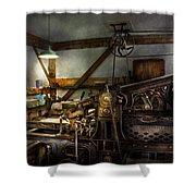 Graphic Artist - Master Press Shower Curtain