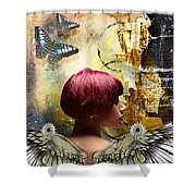 Graphic Arts Shower Curtain