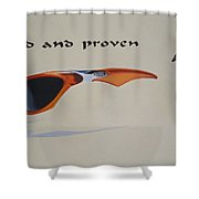 Graphic Composition Shower Curtain