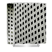 Graphic Construction Shower Curtain