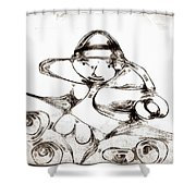 Graphics 1327 Shower Curtain