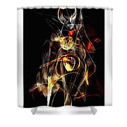 Graphics 1450 Shower Curtain