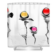 Graphics 1609 Shower Curtain