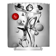 Graphics 1611 Shower Curtain