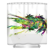 Graphics 1614 Shower Curtain