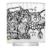 Graphics 1691 Shower Curtain