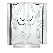 Graphiks Shower Curtain