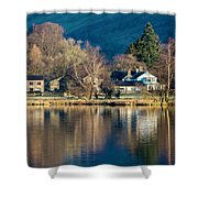 Grasmere Shoreline Shower Curtain