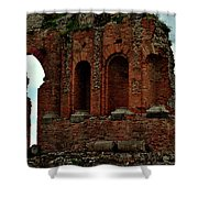 Grand Roman Remains Shower Curtain