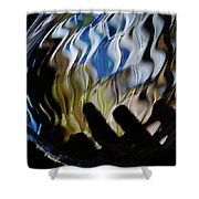 Grasping At Curves Shower Curtain