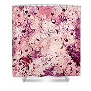 Grasping For Stars Shower Curtain