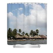 Grass Huts Colombia II Shower Curtain