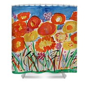 Grasses Can't Hide Shower Curtain