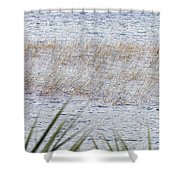 Grassy Waters Shower Curtain