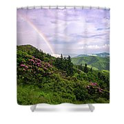 Grassy's Bow Shower Curtain