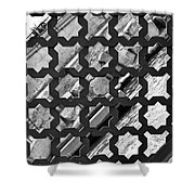 Grated River Walk Shower Curtain