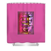 Grateful Thoughts Attract More Delicious Experiences To Be Grateful For. Shower Curtain
