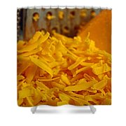 Grating Cheese I Shower Curtain