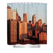 Gratte Ciel Manhattan Usa Shower Curtain