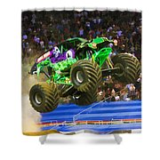 Grave Digger 7 Shower Curtain